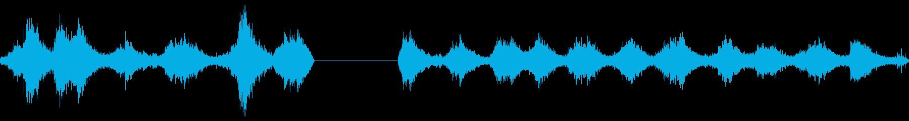 ブタフェメロインセンスバーナースイングの再生済みの波形