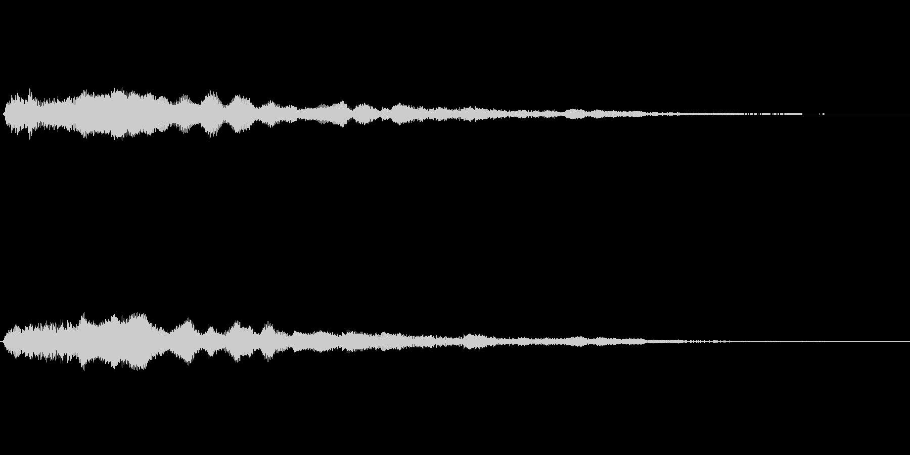 音楽スティンガー;エクステンデッド...の未再生の波形