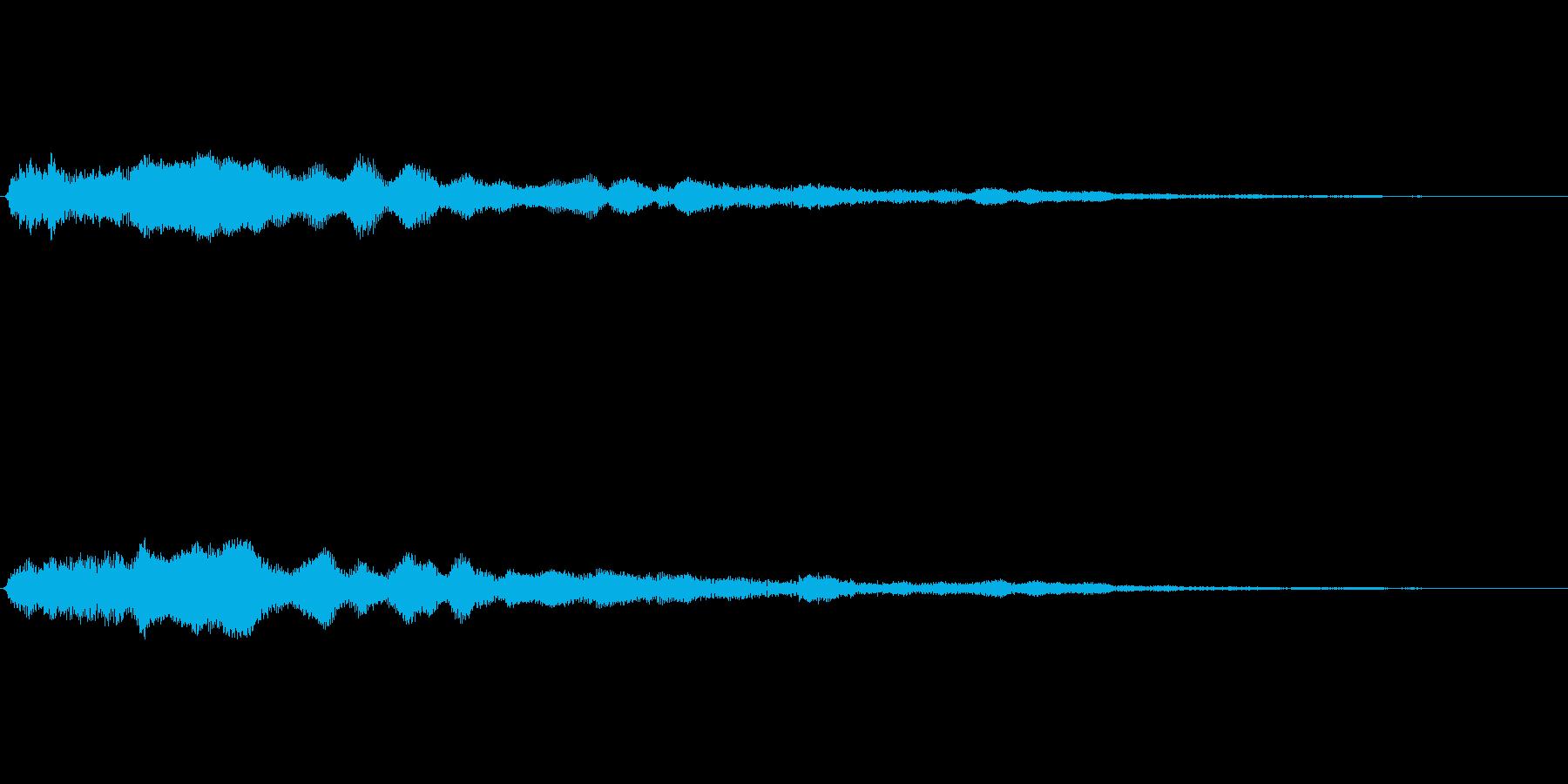 音楽スティンガー;エクステンデッド...の再生済みの波形