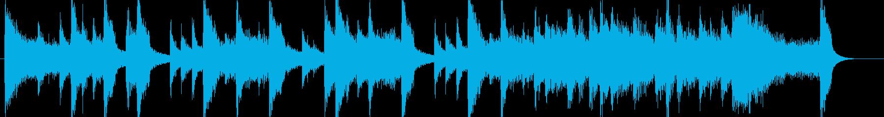 高音質♪和風出囃子ジングルインディアン風の再生済みの波形