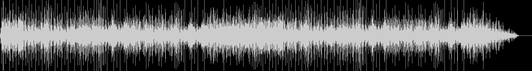 ゆったりした曲の未再生の波形