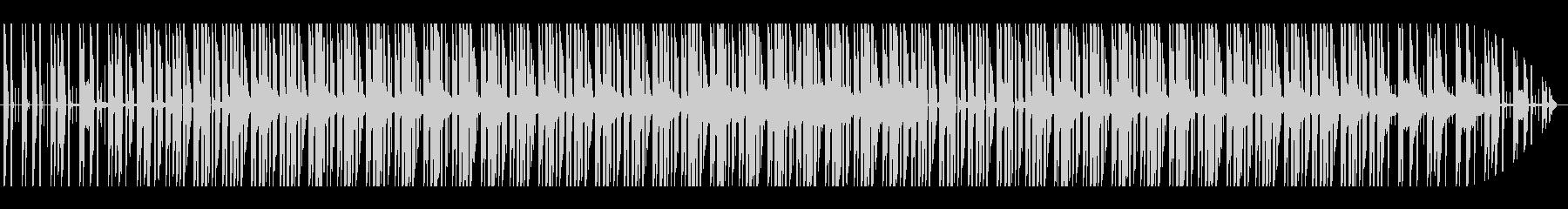 怪しい感じのサウンドの未再生の波形