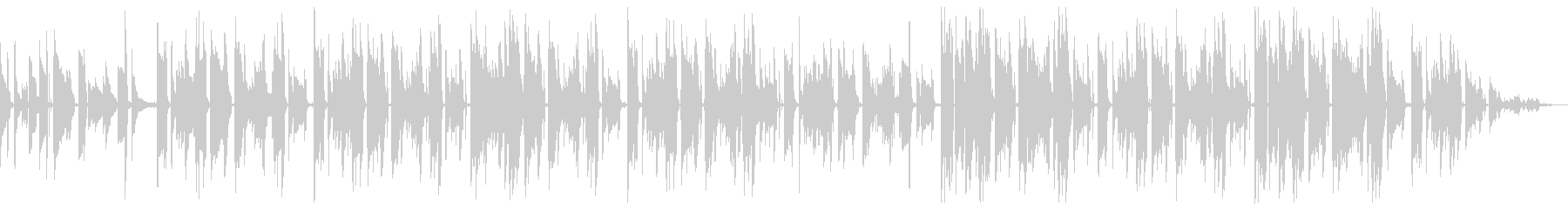 チルホップ ネオソウルギターとサックスの未再生の波形