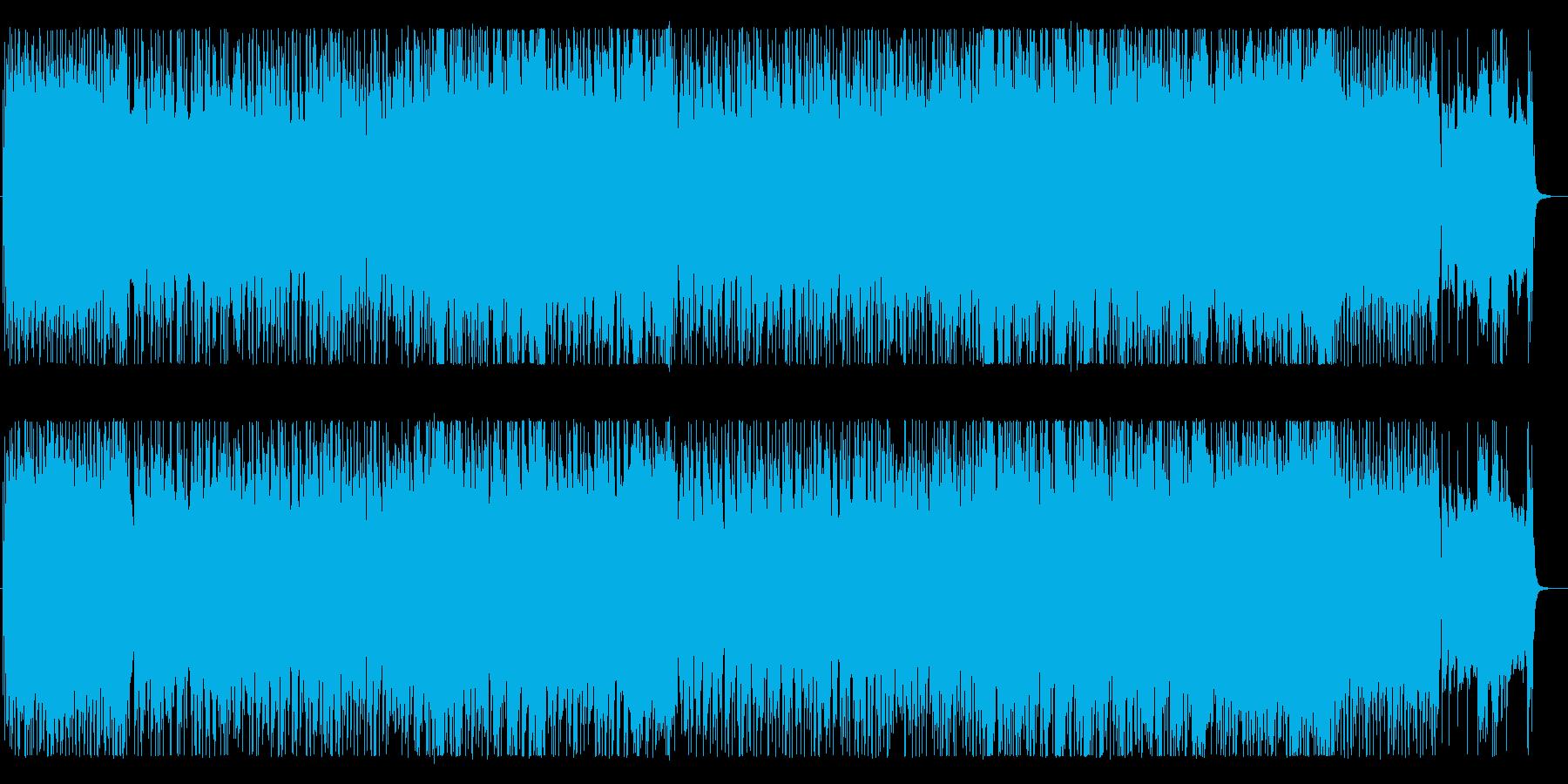 ライブ感のあるバンドサウンドで。の再生済みの波形
