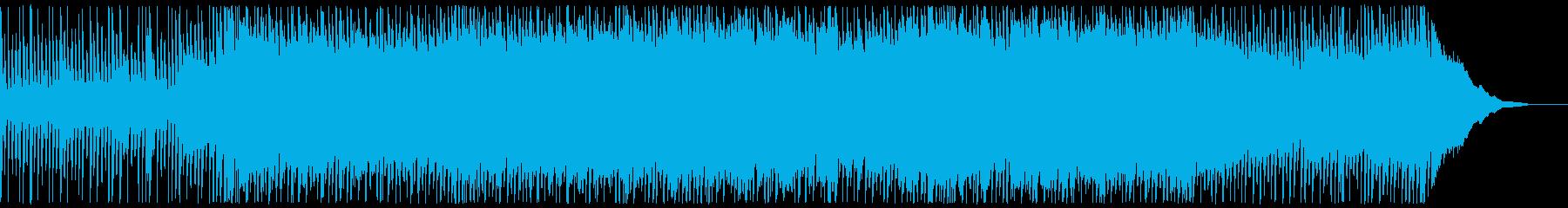 映像BGMに最適な爽やかソフトロックの再生済みの波形
