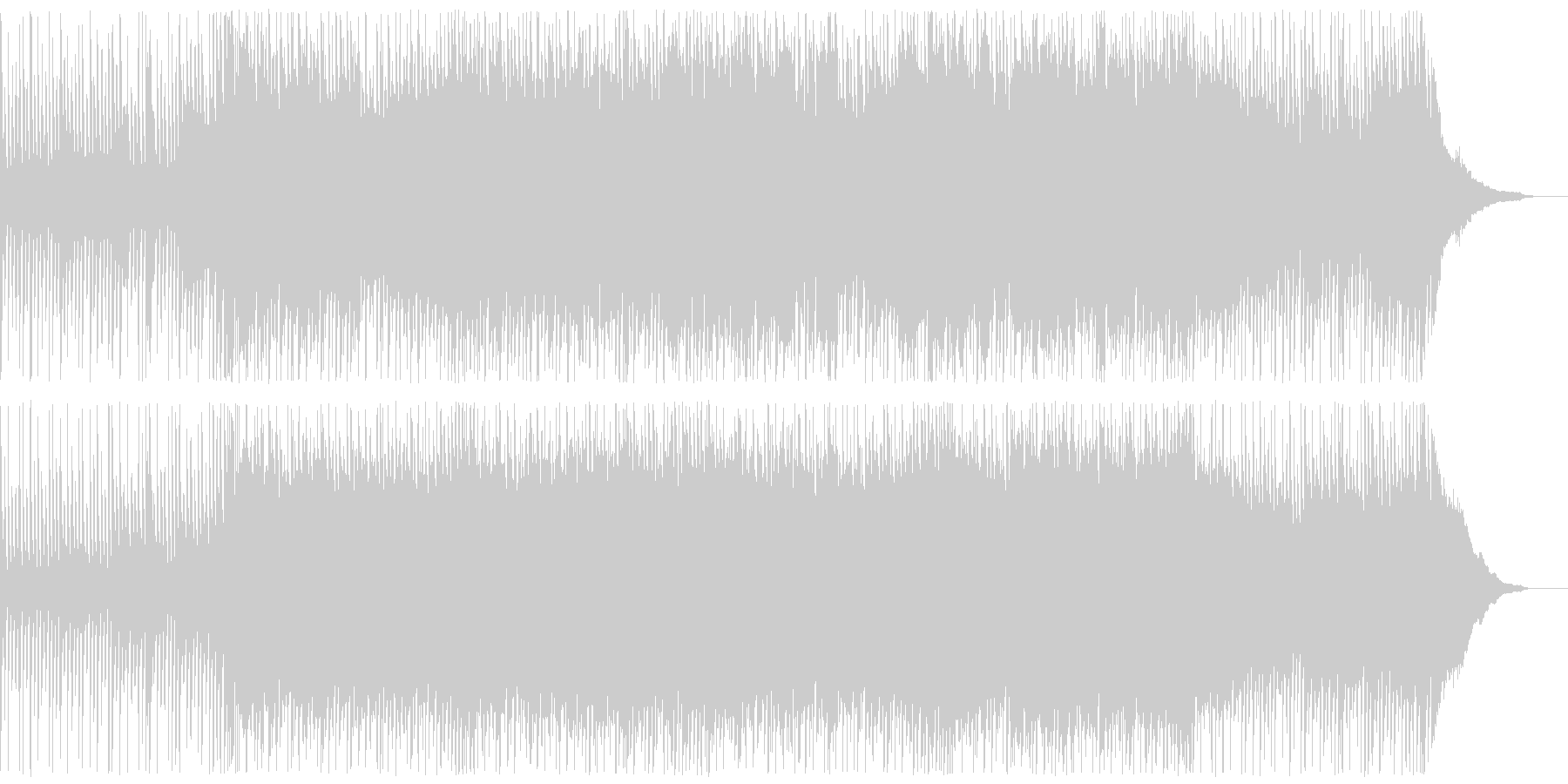 映像BGMに最適な爽やかソフトロックの未再生の波形