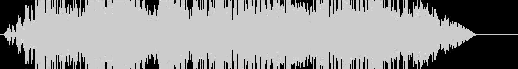 宇宙人の声(長め)の未再生の波形