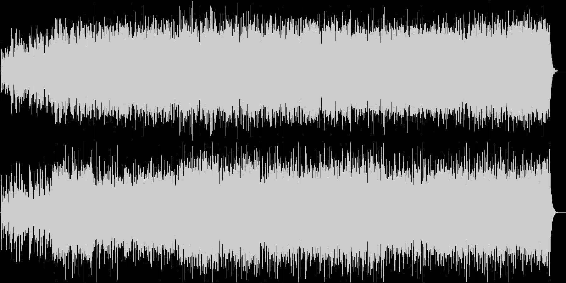 明るいケルト系ファンタジー アイリッシュの未再生の波形