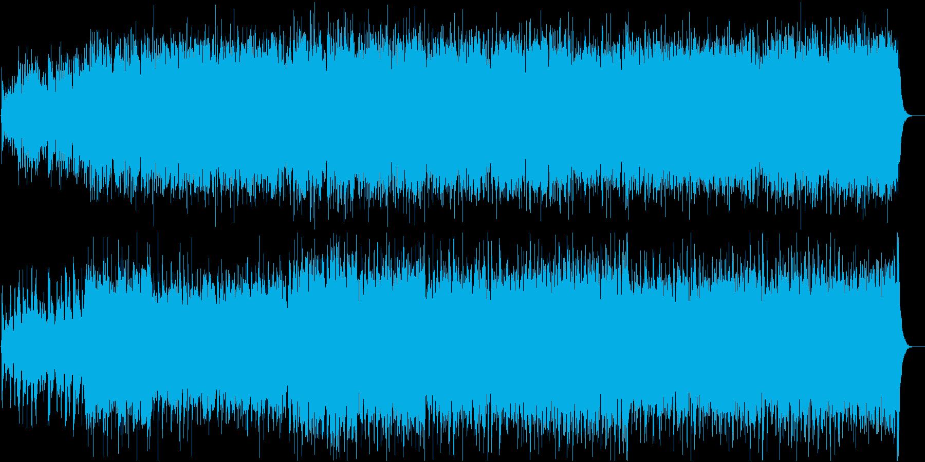 明るいケルト系ファンタジー アイリッシュの再生済みの波形