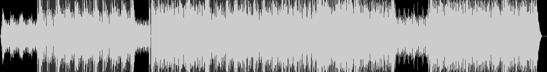 大人の雰囲気・リズミカルなテクノポップの未再生の波形