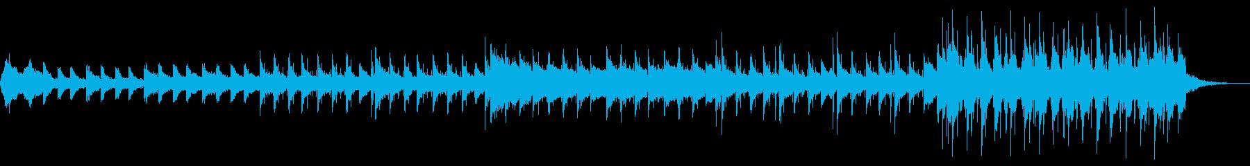 壮大なロックバラード ピアノ ドラム の再生済みの波形