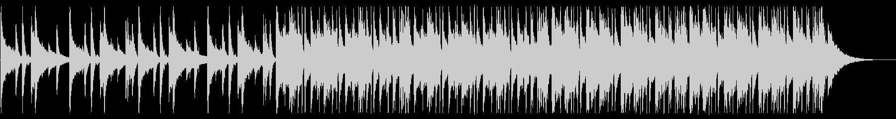 懐かしい雰囲気のチルR&B_2の未再生の波形
