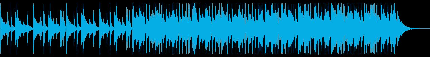 懐かしい雰囲気のチルR&B_2の再生済みの波形
