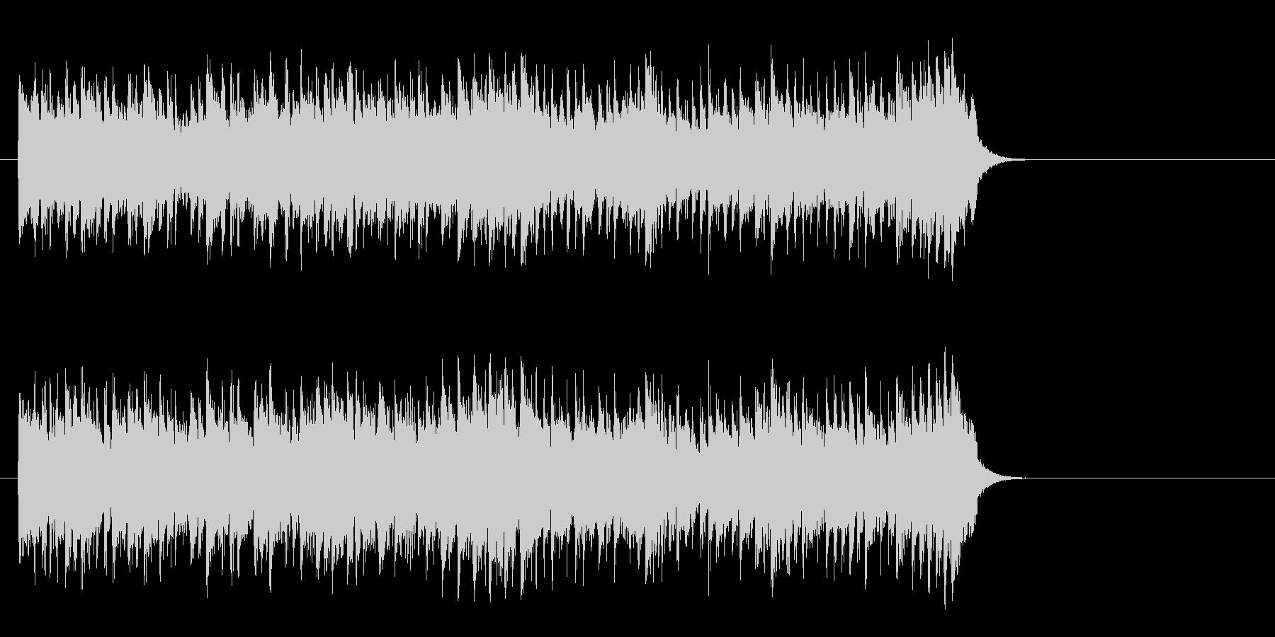 優しいライト・ポップス(サビ~イントロ)の未再生の波形