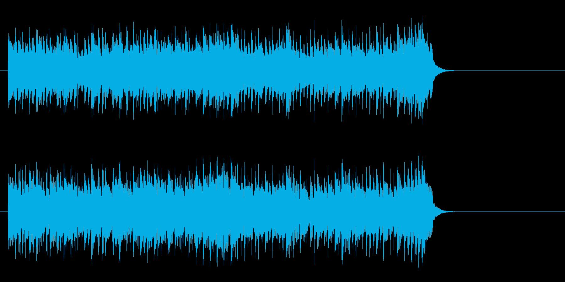 優しいライト・ポップス(サビ~イントロ)の再生済みの波形