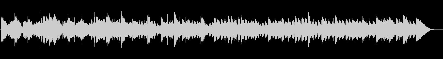 キラキラ光るイルミネーションのBGMの未再生の波形