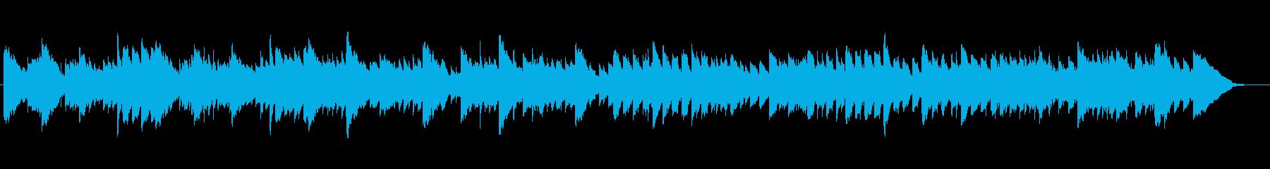 キラキラ光るイルミネーションのBGMの再生済みの波形