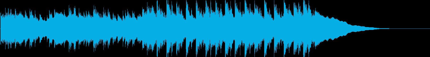 【ジングル】さわやか・朝・ポップの再生済みの波形
