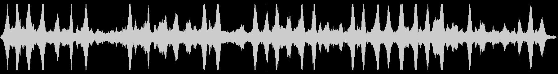 【環境音】波音01A#2(茅ヶ崎海岸)の未再生の波形