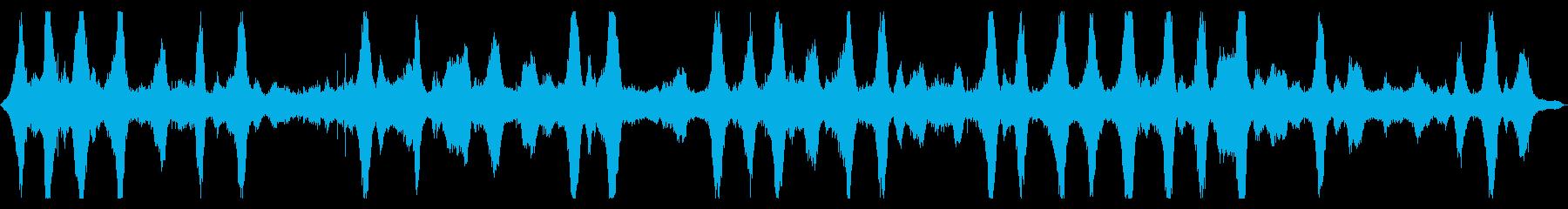 【環境音】波音01A#2(茅ヶ崎海岸)の再生済みの波形