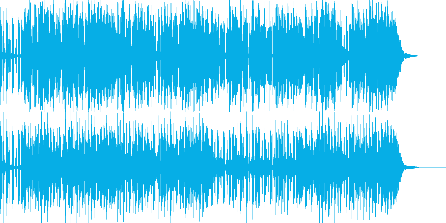 Coolかっこいい脳内エレクトロサウンドの再生済みの波形