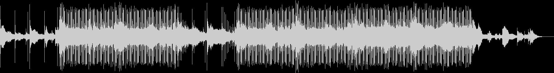 幻想的なUKギターサウンドのBGMの未再生の波形