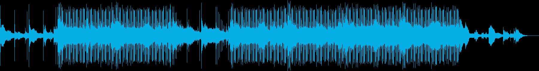 幻想的なUKギターサウンドのBGMの再生済みの波形