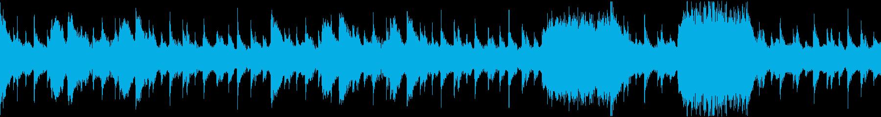 エジプト風BGM/ゆったり/ループの再生済みの波形