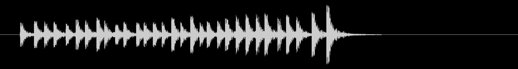 パーカッション-ボンゴスの未再生の波形