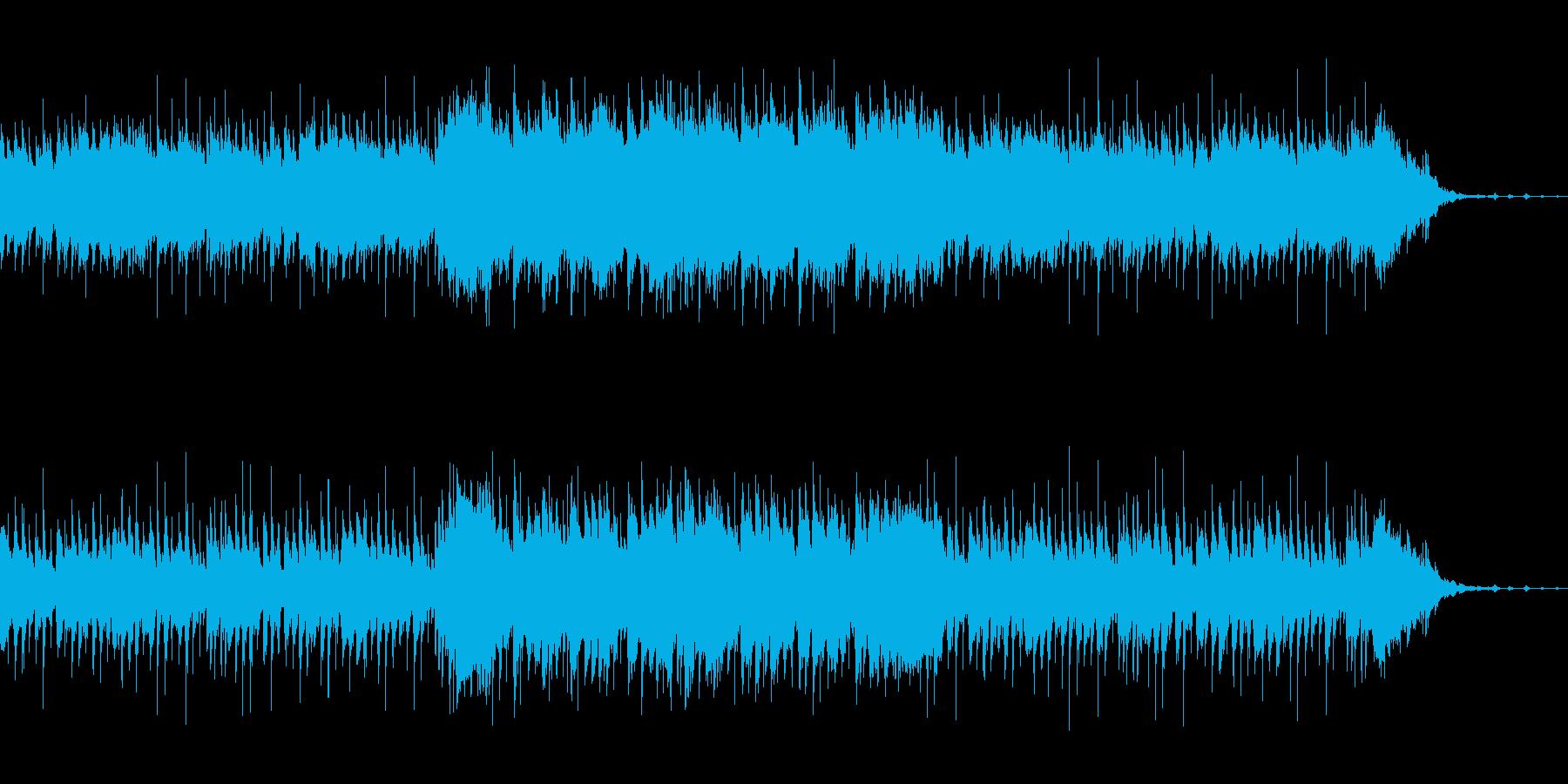 爽やかなCMにぴったりな生演奏アコギ曲の再生済みの波形