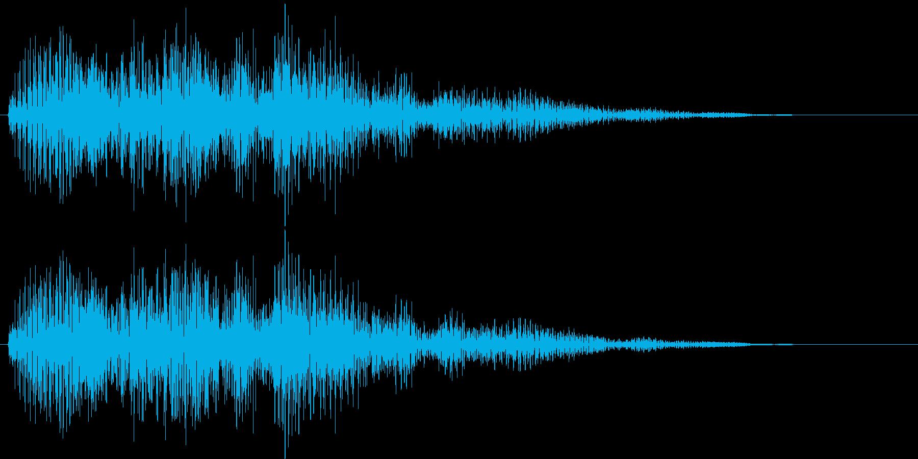 決定・空気感・キャッチー・印象的11の再生済みの波形