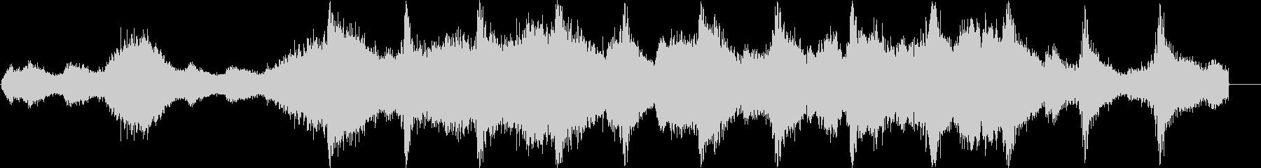 テクスチャを予感させる、これはうだ...の未再生の波形
