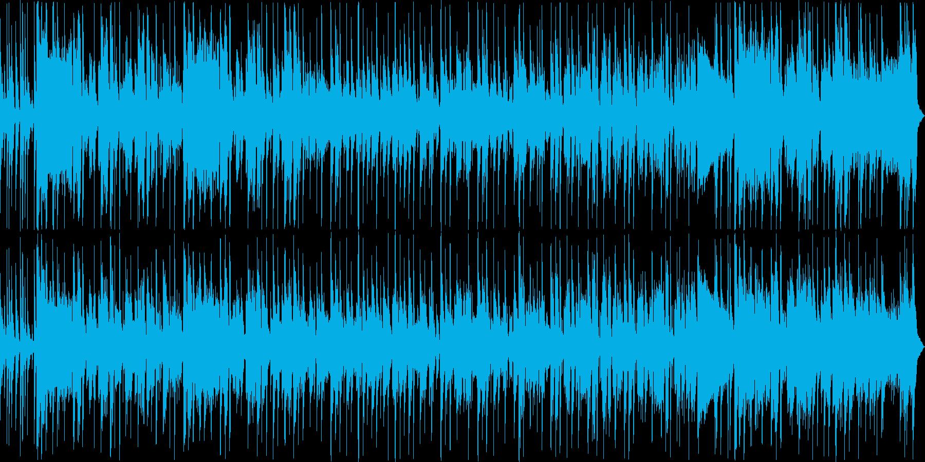クールで自信に満ちたファンクトラックの再生済みの波形