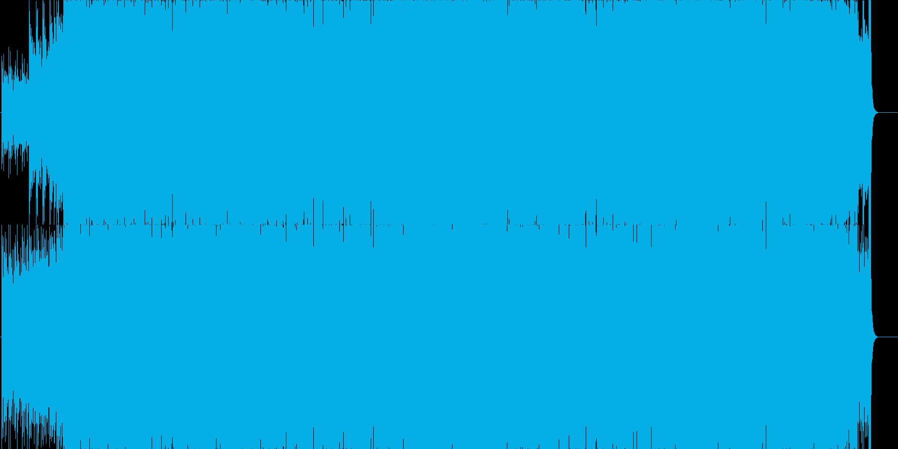 暗めのエモーショナルピアノバンドサウンドの再生済みの波形