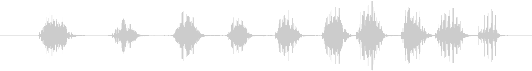 FX ギグルチューブシーケンス01の未再生の波形