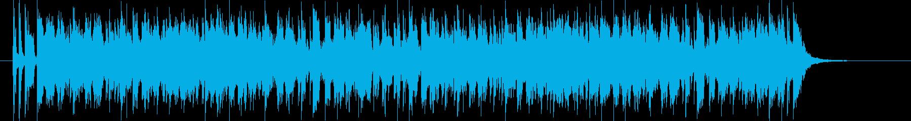 疾走感のあるフュージョンサウンドの再生済みの波形