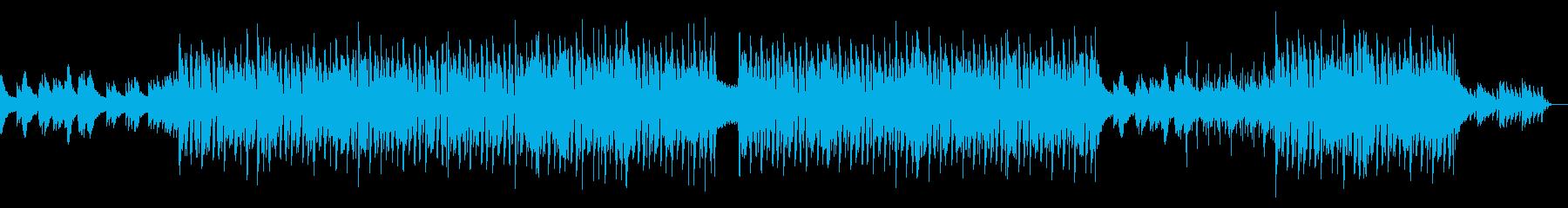 ポップ テクノ アンビエント 感情...の再生済みの波形