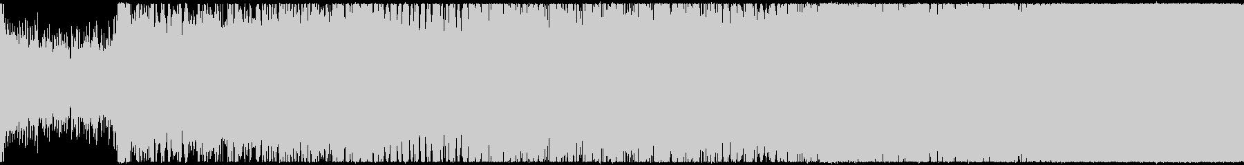 幻想的で勇ましいオーケストラ ループ版の未再生の波形