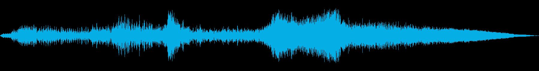 ロードキル、モーターグロールスラム...の再生済みの波形
