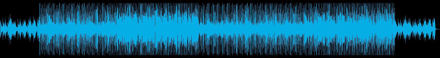 落ち着き・爽やか・優しい・HIPHOPの再生済みの波形