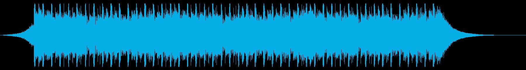 建設ビル(30秒)の再生済みの波形