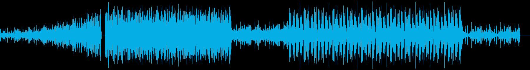 若者が音楽に乗っている様子を表現しましたの再生済みの波形