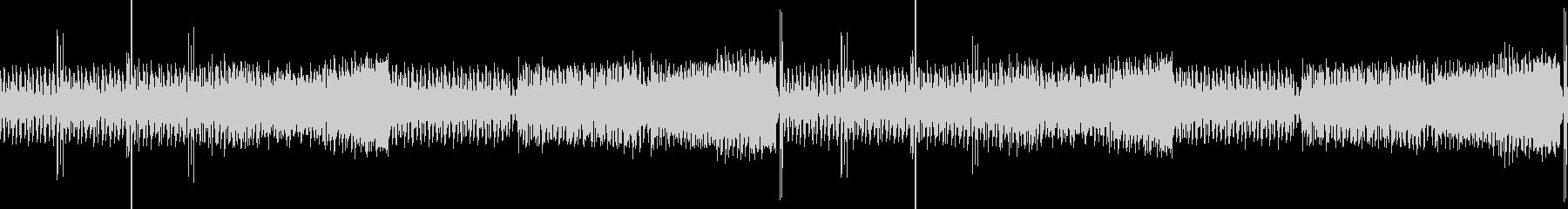 感動的EDM日本風・和風映像三味線琴尺八の未再生の波形