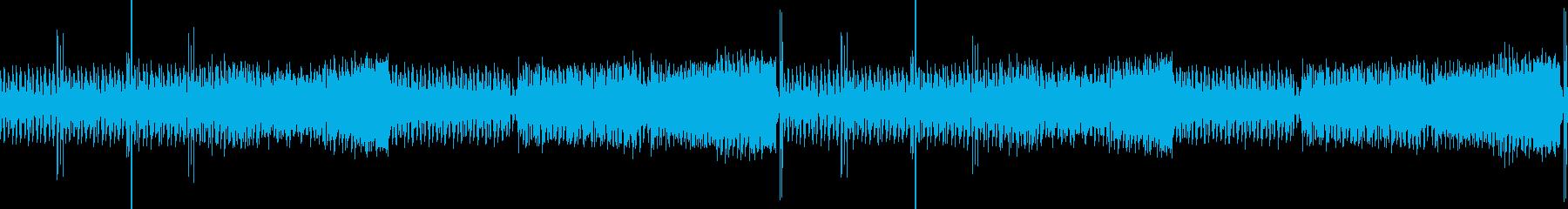 三味線尺八EDM・琴・日本風・和風・映像の再生済みの波形