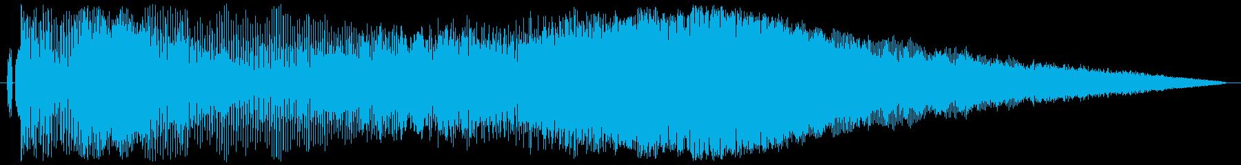 【レース05】ド迫力のエンジン効果音!の再生済みの波形