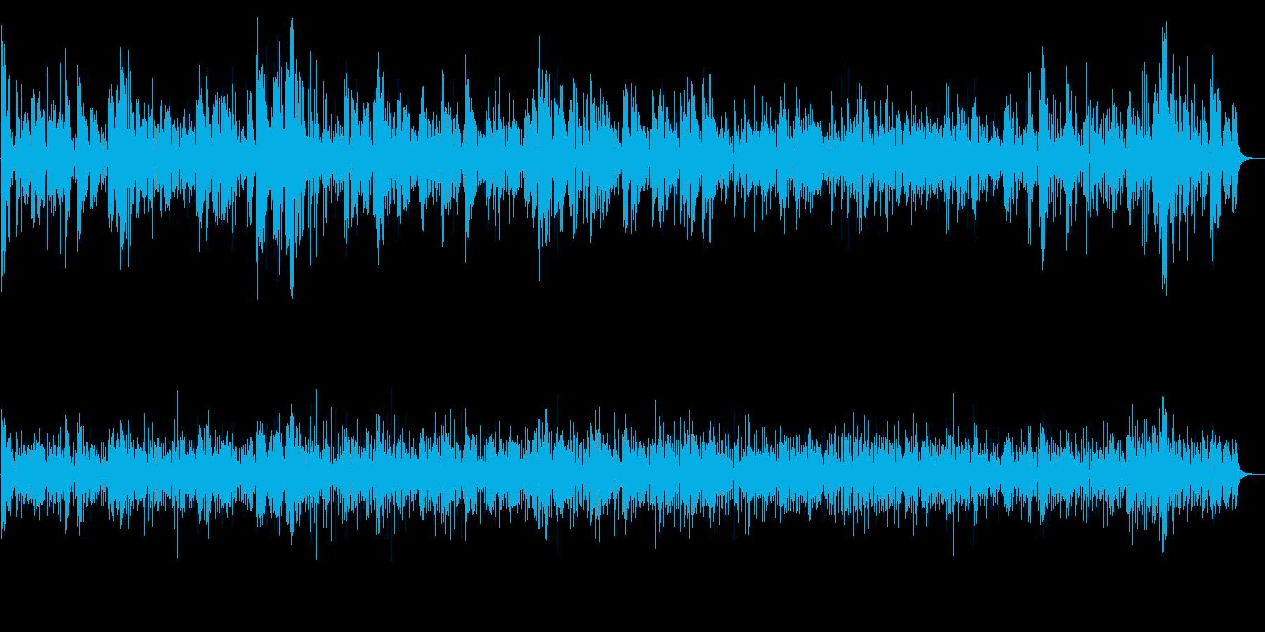 JAZZ 配信・TV・動画・イベント用の再生済みの波形