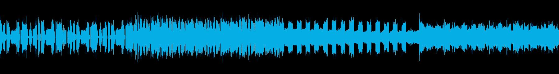 【ループ可】ハードなトランスの再生済みの波形