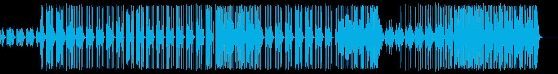 リードシンセ・メロHip-HopBeatの再生済みの波形