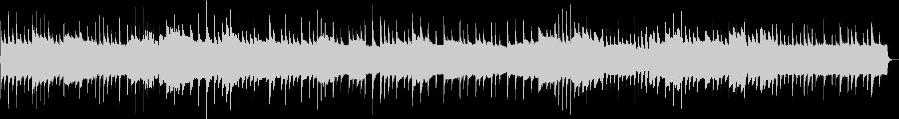 リラックス出来そうなゆったりとしピアノ曲の未再生の波形