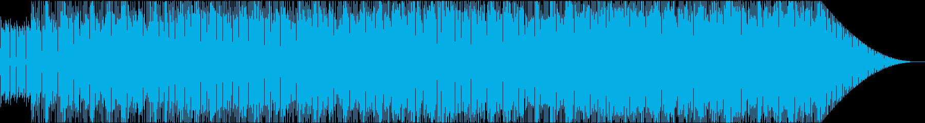 ストーンズ風ロックンロール♪の再生済みの波形